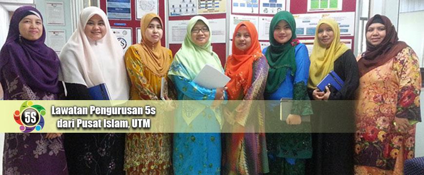 Lawatan 5s BPO dari Pusat Islam, UTM