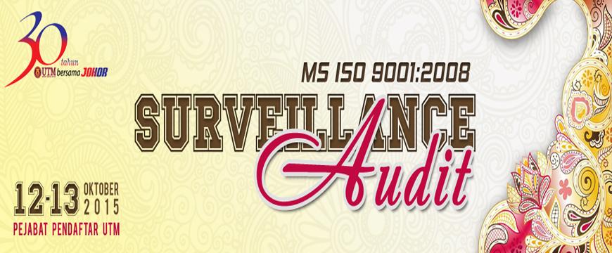Sirim Surveillance Audit 2015 Pejabat Pendaftar UTM JB