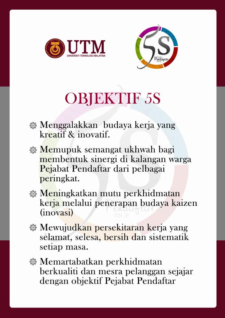 Objektif 5S