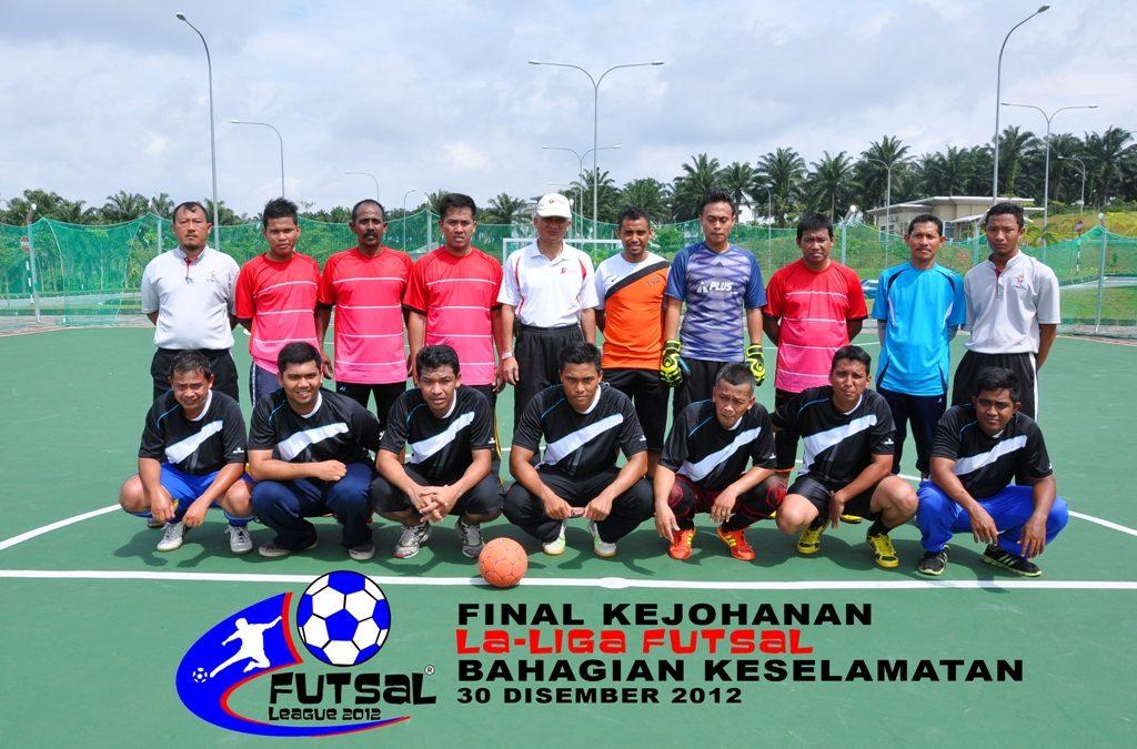 Kejohanan La-Liga Futsal Bahagian Keselamatan 2012