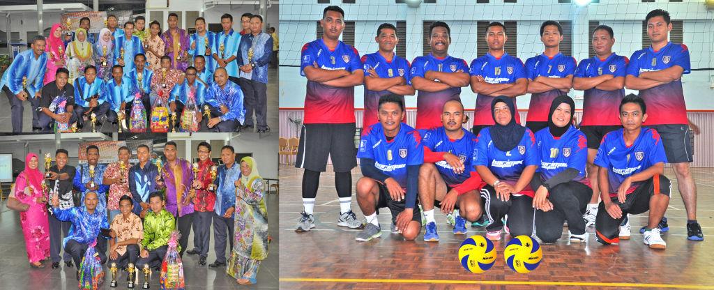 TAHNIAH…Naib Johan Bola Tampar Konvensyen Keselamatan IPTA 2013 Di UNISZA