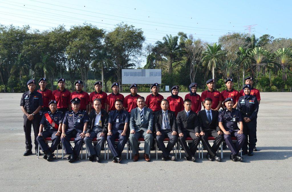 PENUTUP KURSUS ORIENTASI STAF BARU BAHAGIAN KESELAMATAN UTM  SIRI 1/2018