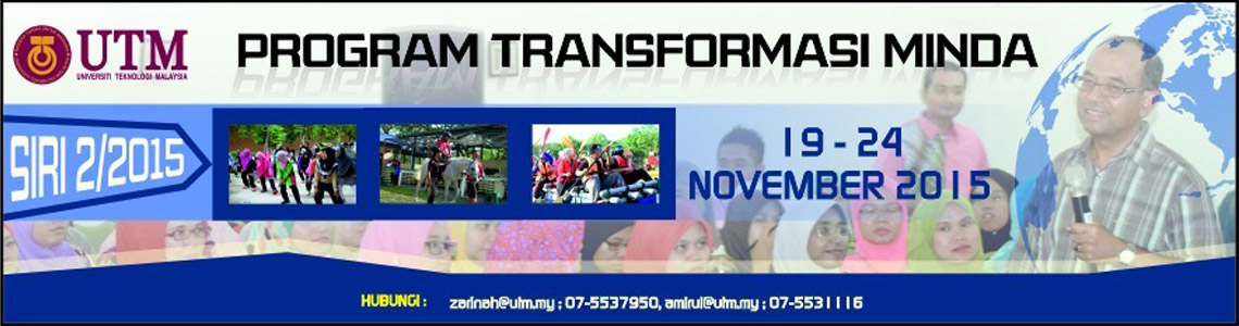 Program Transformasi Minda Siri 2/2015